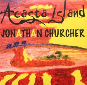 Acasta is the oldest rock on the planet (3.9 billions years) and is found near Yellowknife. The painting features Yellowknife's skyline at the far left, with a molten rock landscape, with matching sky and sun.