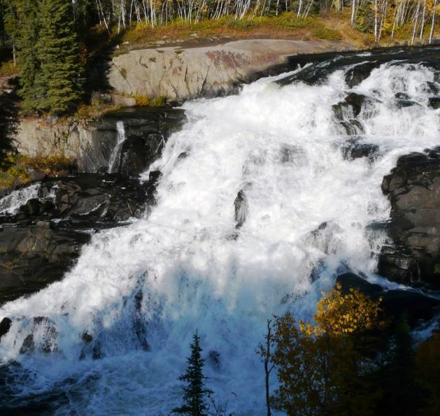 Cameron Falls, near Yellowknife, NWT, Canada/