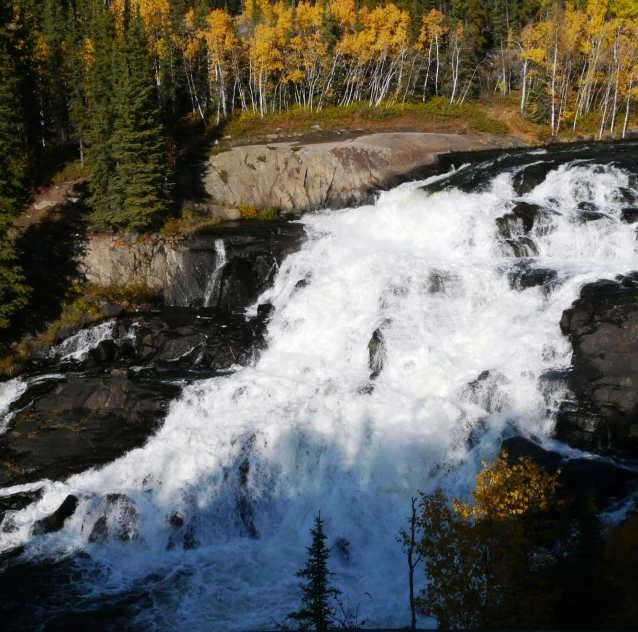 Cameron Fall, NWT. Traditional Flow Volume.